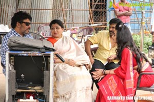 Kalavathi Working Stills