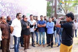 Jallikattu : Kollywood actors silent protest photos