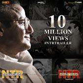NTR Kathanayakudu 10 Million Views Trailer Poster