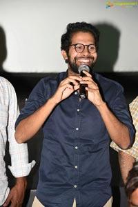 Mr.Majnu Team at Sailaja Theater, Vijayawada