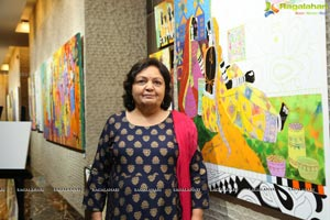 Anuradha Thakur's Paintings Exhibitions