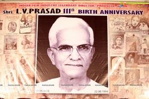LV Prasad's 111th Birth Anniversary