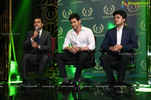 Mahesh Babu As Brand Ambassador For Denver
