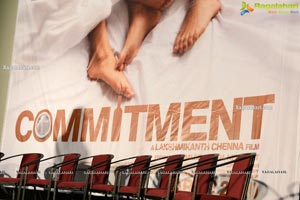 Commitment Movie Title Poster Launch
