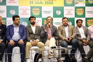 CREDAI Hyderabad Property Show 2020 Press Meet