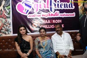 Girl Friend Arabian Mandi Restaurant Launch