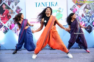 Taneira & Pinkathon's First Saree Run in Hyderabad