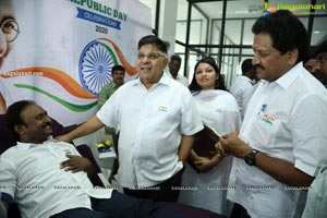 Republic Day Celebrations at Chiranjeevi Blood Bank