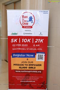 Run For a Girl 4th Edition Press Meet