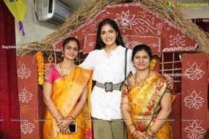 Sankranti Sambaralu with Bombhaat Movie Team
