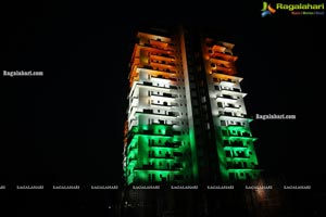 Sky High lluminated with Tricolor