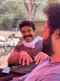Roudram Ranam Rudhiram (RRR) On Location Pics