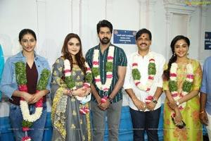 Naveen Chandra-Smruthi Venkat Film Opening