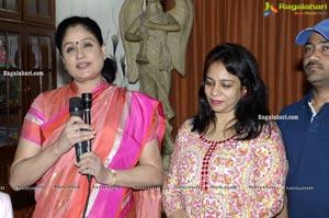 Radha Krishna Movie Song Launch by Vijayashanthi