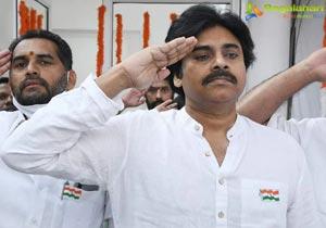 Pawan Kalyan Hoists Tricolour on 72nd Republic Day