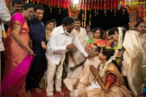 Celebs at Singer Sunitha-Ram Wedding