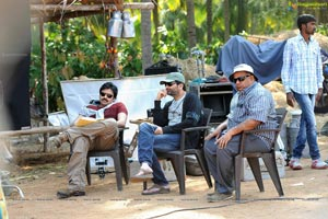 Attharintiki Daaredhi Shooting Photos