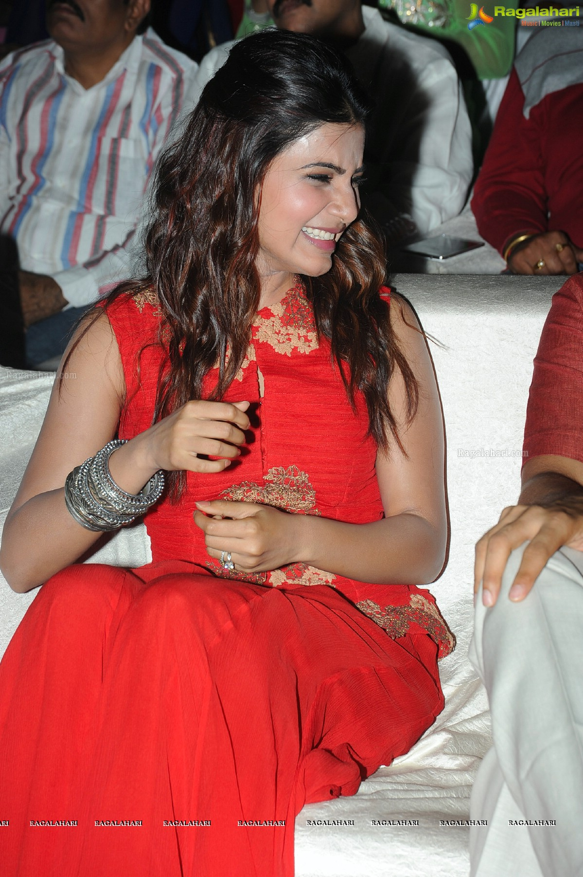 Samantha at Lovers Audio Release
