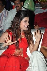 Samantha in Red Dress