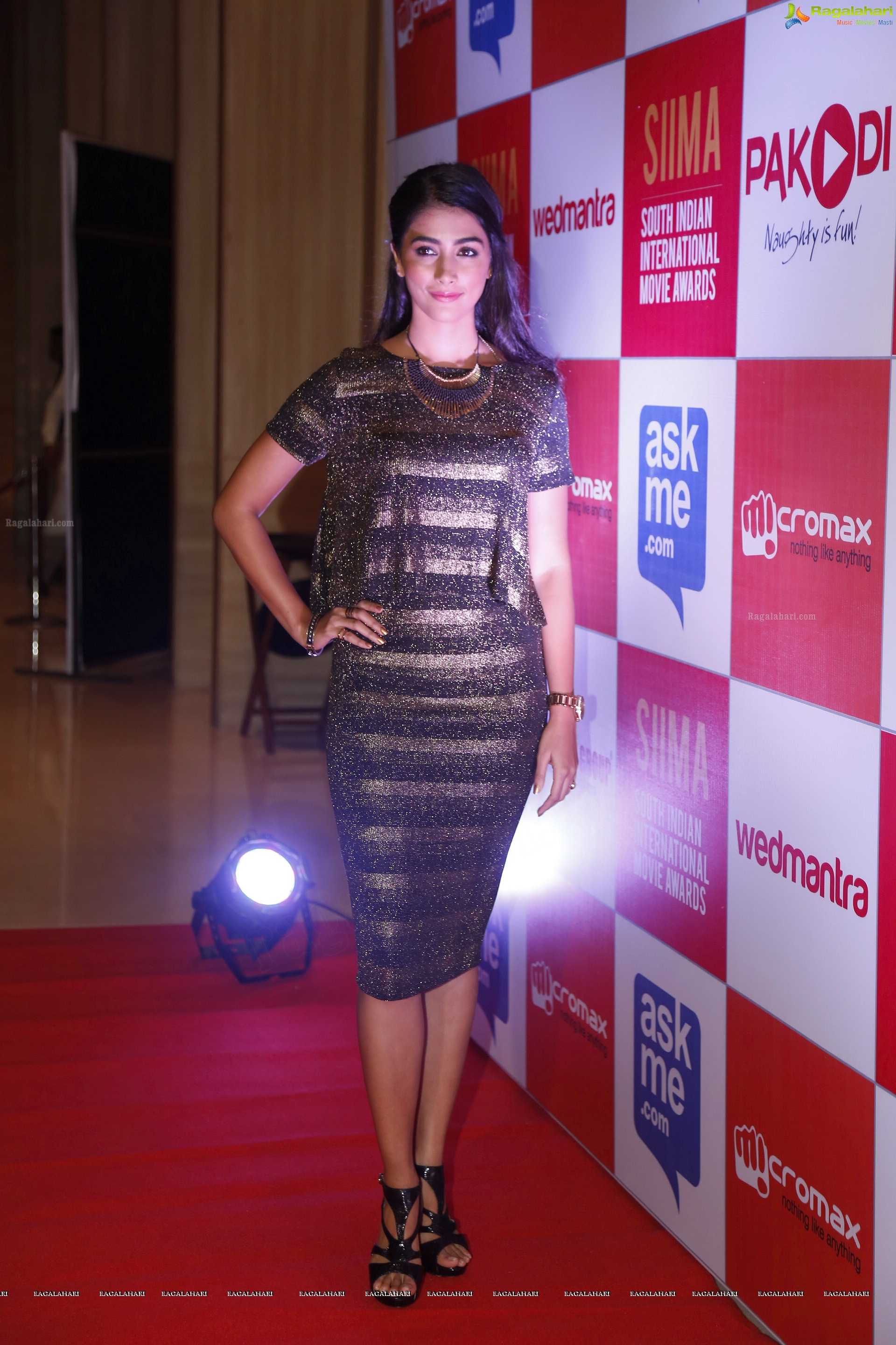 Pooja Hegde at SIIMA HD Gallery, Images