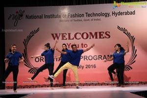 NIFT Orientation Program 2016