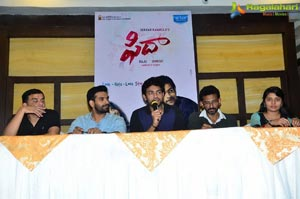 Fidaa Press Meet Vijayawada