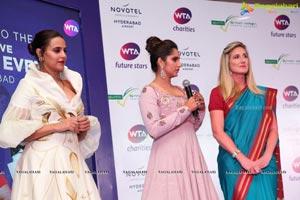 WTA Finals Evening Sania Mirza Neha Dhupia