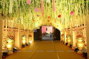 Ambica Krishna Grandson Wedding Reception