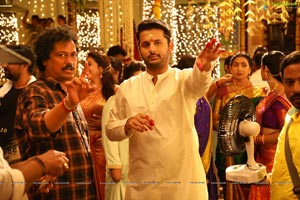 Srinivasa Kalyanam Working Stills