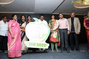 'She Need' Logo Launch