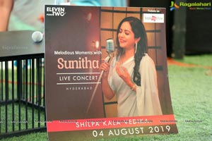 Melodious Moments With Sunitha Press Meet