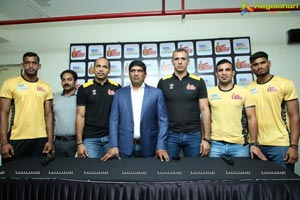 Telugu Titans Gear Up To Kick Start Home Matches of Vivo PKL