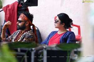 Ismart Shankar Working Stills