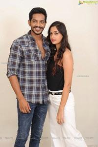 Vijay Raju and Tamanna Vyas Film Muhurat