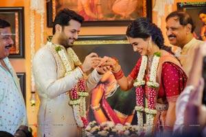Nithiin and Shalini's Pre-Wedding Bash Photos