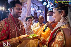 Nithiin and Shalini's Wedding Pics