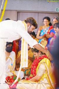 Producer Vallurupalli Ramesh's Son Maharshi Wedding Photos