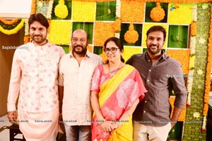 Producer Vallurupalli Ramesh's Son Maharshi Wedding Photos
