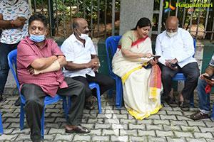 Veteran Actress Jayanthi Last Rites photos