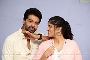 Adith Arun-Megha Akash Stills at Dear Megha Teaser Launch