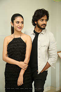 Teja Sajja and Priya Prakash Stills ISHQ Movie Press Meet