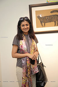 Painting Exhibition - Inked Images at Kadari Art Gallery
