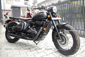 Jawa Bike Showroom Launch at Malakpet
