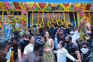 Payal Rajput Inaugurates Kasam Fashion Mall at Warangal