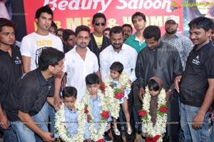 Highlights-A Modernized Unisex Salon Launch Hyderabad