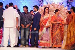 Ram Charan Wedding Reception Photos