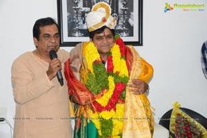 Brahmanandam Felicitates Aali