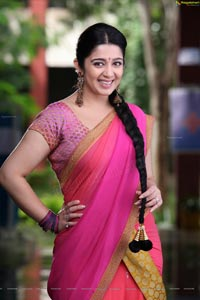Charmi in Half Saree