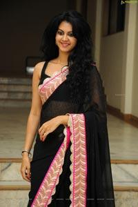 Kamana Jethmalani in Hot Black Saree