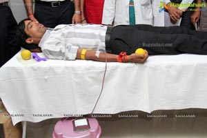 Gemini Edibles Hyderabad Blood Donation Camp